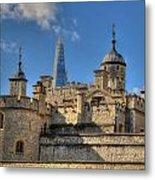 Towers Of London Metal Print