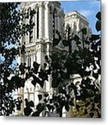 Towers Of Notre Dame Metal Print