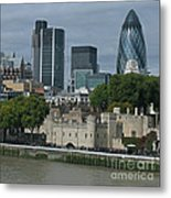 Towers Old And New Metal Print
