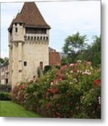 Town Gate - Nevers  Metal Print