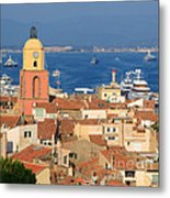 Town Of St Tropez Cote D'azur France Metal Print