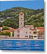 Town Of Tisno Waterfront Croatia Metal Print