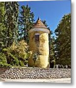 Town Of Vrbovec Historic Park Tower Metal Print