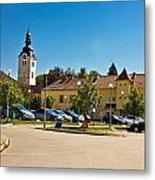 Town Of Vrbovec In Croatia Metal Print