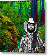 Toy Caldwell In The Woods Metal Print