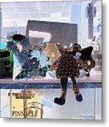 Toy Doll Metal Print by Dietrich ralph  Katz