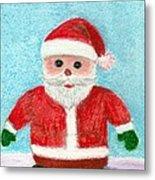 Toy Santa Metal Print