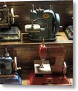Toy Sewing Machines Metal Print
