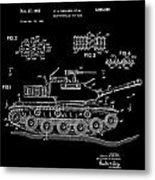 Toy Tank Metal Print