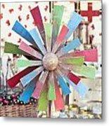Toy Windmill Metal Print