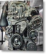 Toyota Engine Metal Print