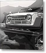 Toyota Fj55 Land Cruiser Metal Print