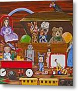 Toys In The Attic Metal Print