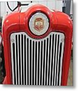 Ford Tractor Grill Metal Print
