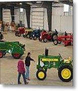 Mecum Tractor Auction Metal Print
