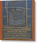 Traces Of The Past Busch Stadium Dsc01113 Metal Print