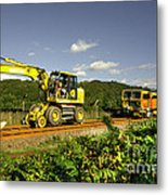 Track Machines  Metal Print