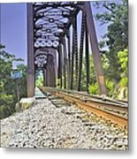 Tracks In Time Metal Print by Edward Hamilton