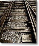 Tracks Into Tracks - 2 Metal Print