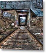 Tracks To Nowhere Metal Print