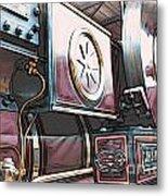 Traction Engine 1 Metal Print