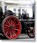 Traction Engine  Metal Print