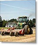 Tractor Power Metal Print