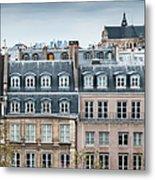 Traditional Buildings In Paris Metal Print