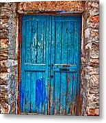 Traditional Door 2 Metal Print