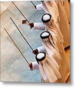 Traditional Emirati Men's Dance  Metal Print