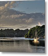 Traditional Sailing Boat Metal Print