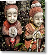 Traditional Thai Welcome Metal Print