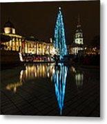 Trafalgar Christmas Tree Metal Print