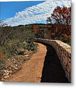 Trail At Reimer's Ranch Metal Print