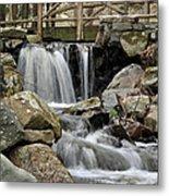 Trail Bridge Metal Print