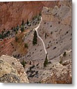 Trail Into The Past Metal Print
