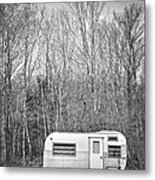 Trailer Metal Print by Diane Diederich