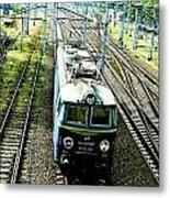 Train Metal Print