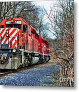 Train - Canadian Pacific Engine 5937 Metal Print