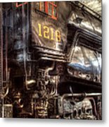 Train - Engine - 1218 - Norfolk Western - Class A - 1218 Metal Print by Mike Savad