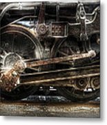 Train - Engine - 1218 - Nw Type-a 1218 Steam 2-6-6-4 Metal Print