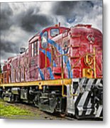 Train From The 60's Metal Print