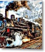 Train II Metal Print