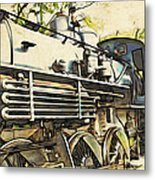 Train Is Coming Two Metal Print