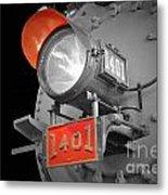 Train Light 1401 Metal Print