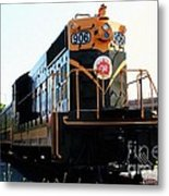Train Museum - End Of The Line - Canadian National Railway Metal Print