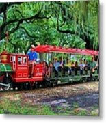 Train - New Orleans City Park Metal Print