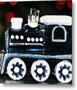 Train Ornament Metal Print