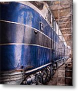 Train - The Maintenance Facility  Metal Print