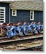 Trains Tr3634-13 Metal Print